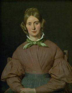 Portrait of Susanne Cecilie Købke