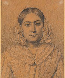 Portrait of Antoinette Christiane Købke | Christen Købke | Oil Painting
