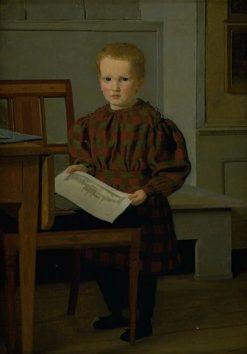 The Painter C.W.Eckersberg's Son
