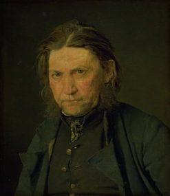 Portrait of an Old Sailor | Christen Købke | Oil Painting