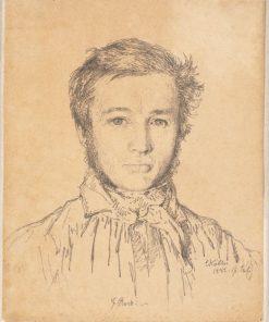Portrait of Jørgen Roed | Christen Købke | Oil Painting