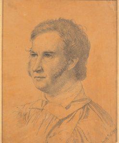 Portrait of Jacob Georg Købke | Christen Købke | Oil Painting