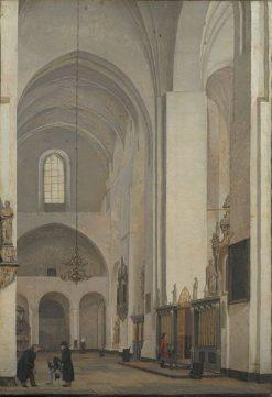 The Transpet of Århus Cathedral | Christen Købke | Oil Painting