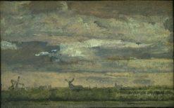 View near Copenhagen | Christen Købke | Oil Painting