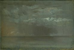 Study of Clouds over Sea | Christen Købke | Oil Painting