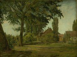 View of Falkonerallé Outside Copenhagen | Christen Købke | Oil Painting