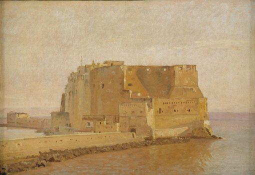 Castel dell' Ovo in Naples | Christen Købke | Oil Painting