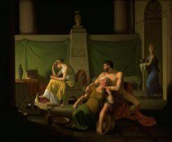 The Return of Odysseus: Scene from Homer's Odyssey | Christoffer Wilhelm Eckersberg | Oil Painting
