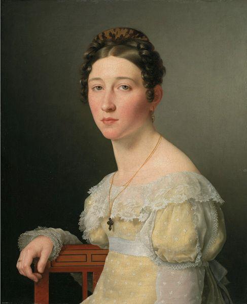 Emilie Henriette Massmann | Christoffer Wilhelm Eckersberg | Oil Painting