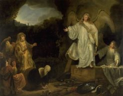 Apparition of Christ | Ferdinand Bol | Oil Painting