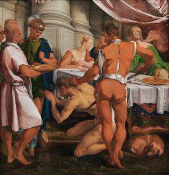 The Decapitation of St John the Baptist   Jacopo Bassano   Oil Painting