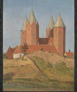 Kalundborg Church | Johan Thomas Lundbye | Oil Painting