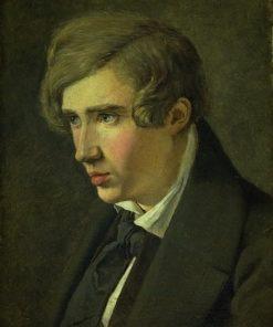 The Painter Thorald Læs?e | Johan Thomas Lundbye | Oil Painting