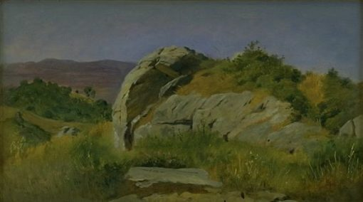 Landscape with Rocks in the Foreground at Civitella