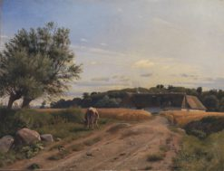 A Croft at Lodskov near Vognserup Manor