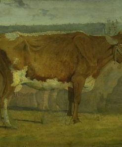 Study of a Cow | Johan Thomas Lundbye | Oil Painting