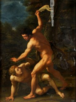 Cain Slaying Abel | Luca Giordano | Oil Painting