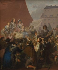 The Oath of Fealty in 1660 | Nicolai Abraham Abildgaard | Oil Painting