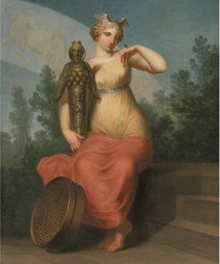 Allegorical Figure of Philosophy | Nicolai Abraham Abildgaard | Oil Painting