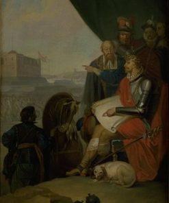 Frederik II Builds Kronberg Castle at Elsinore | Nicolai Abraham Abildgaard | Oil Painting