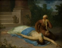 The Dying Messalina and Her Mother | Nicolai Abraham Abildgaard | Oil Painting