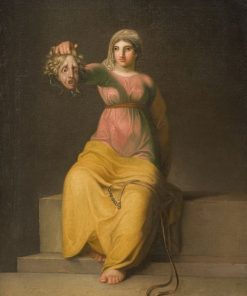 Allegorical Figure of Theology | Nicolai Abraham Abildgaard | Oil Painting