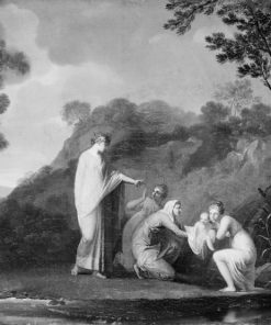 The Finding of the Infant Moses | Nicolai Abraham Abildgaard | Oil Painting