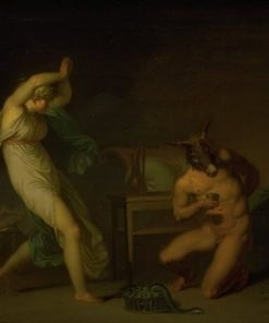Fotis Sees her Lover Lucius Transformed into an Ass | Nicolai Abraham Abildgaard | Oil Painting
