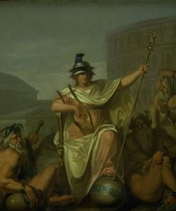 Rome as Ruler of the World | Nicolai Abraham Abildgaard | Oil Painting