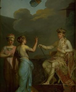 Christian VII Uniting the Ducal with the Royal Part of Holstein in 1767 | Nicolai Abraham Abildgaard | Oil Painting