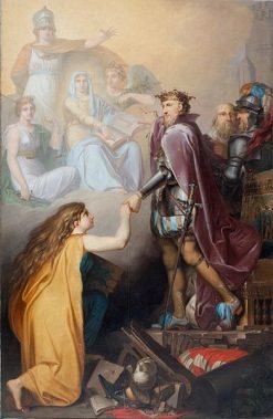 Christian III Succouring Denmark | Nicolai Abraham Abildgaard | Oil Painting