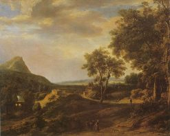 Landscape with a Mountain | Roelant Roghman | Oil Painting
