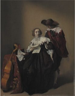 A Seated Woman with a Letter
