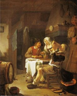A Peasant Inn | Frans van Mieris the Elder | Oil Painting