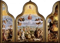 The Last Judgement | Lucas van Leyden | Oil Painting