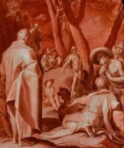 John the Baptist Preaching | Abraham Bloemaert | Oil Painting