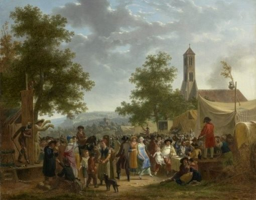 Country Fair | Adolphe Eugene Gabriel Roehn | Oil Painting