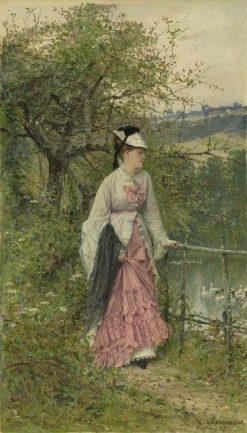 Contemplation   Adrien Moreau   Oil Painting