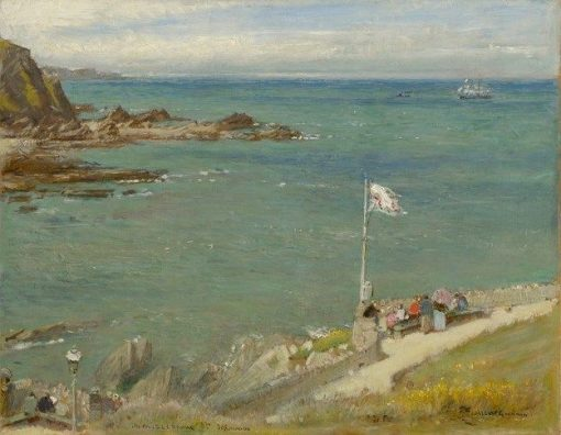The Bristol Channel from Ilfracombe | Albert Goodwin | Oil Painting