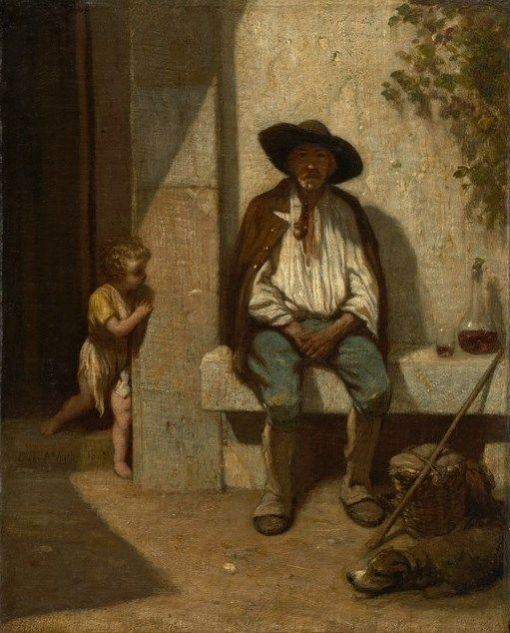 Italian Peasant | Alexandre Gabriel Decamps | Oil Painting