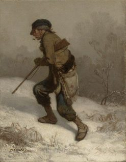 The Poacher | Alexandre Gabriel Decamps | Oil Painting