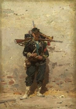 Bugler of the Light Infantry | Alphonse Marie Adolphe de Neuville | Oil Painting