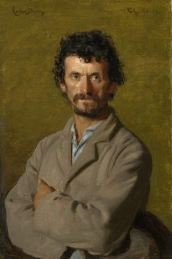 The Artist's Gardener | Charles Auguste Emile Durand | Oil Painting