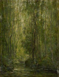 Woodland Scene | Charles Francois Daubigny | Oil Painting