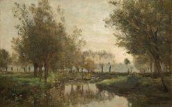 The Creek | Charles Francois Daubigny | Oil Painting