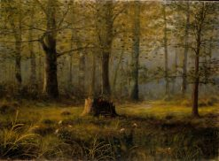 Wooded Grove | Clarence Cook | Oil Painting