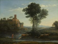 Landscape with the Voyage of Jacob | Claude Lorrain | Oil Painting
