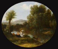 Rest on the Flight into Egypt | Claude Lorrain | Oil Painting