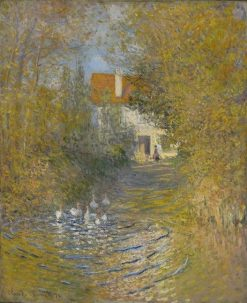 The Geese | Claude Monet | Oil Painting