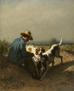 The Gamekeeper | Constant Troyon | Oil Painting
